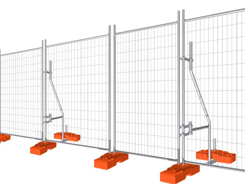 Standard Amp Customized Temporary Fencing For Australia