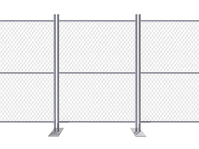 Fence Gates Match With Various Temporary Fence & Crowd Control Barriers