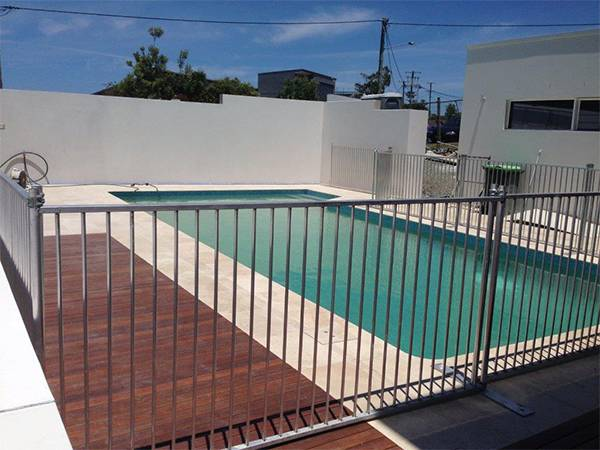 Ultra Safe Temporary Pool Fencing For Pool Repairing And